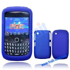 One Silicone Case and One Mesh Case for Curve 8520/8530 (Blue)