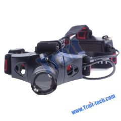 Q5 Cree LED 3 Mode Zoomable Headlight Headlamp Torch