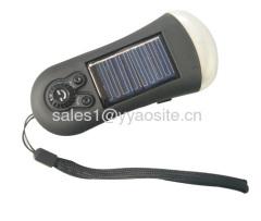 Solar radio Flashlight