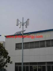 wind and solar system for street light