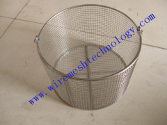 stainless steel sterilizing basket