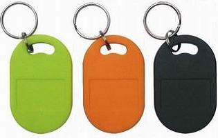 HF RFID keyfob and ID card with Fudan F08 chip