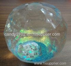crystal diamond bounce ball
