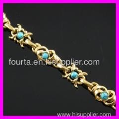 fallon 18K gold plated zircon bracelet IGP