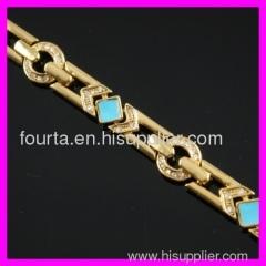 18k oil bracelet