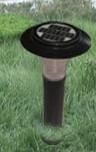 Aluminum die casting Solar Garden Lamp