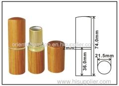 lipstick case;lipstick tube;bamboo lipstick bottle