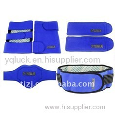 Far infrared Tourmaline lumbar belt, knee pad, neck guard, wrist pad