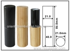 recycled lipstick case: bamboo cosmetic tube: cosmetic case