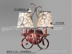 Europe type bed wall lamp