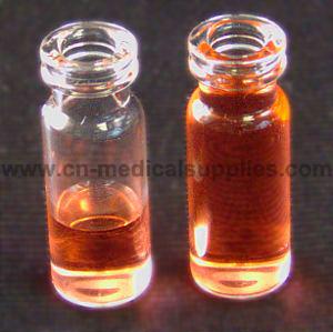 Snap Top Glass Vial