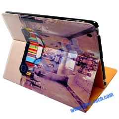 Colourful Car Magnetic Leather Case for iPad 2