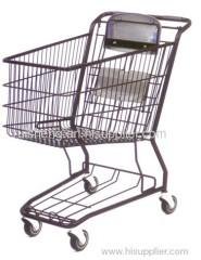 metal american type supermarket trolley