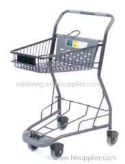 grocery store shopping carts