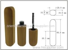 bamboo packaging; lipgloss tube; lip gloss bottle