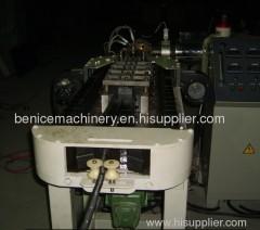 PVC single wall corrugated pipe making machine