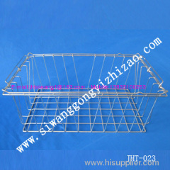 SS304 lace edging wire mesh basket