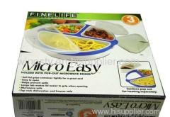 Micro-Easy microwave plate