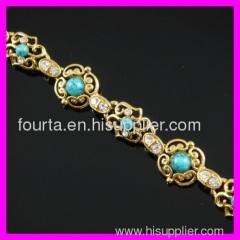 iraq jewelry 18k gold bracelet