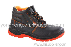 PU Outsole Leather Composite Toe Safety Shoes