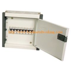 sheet metal distribution box