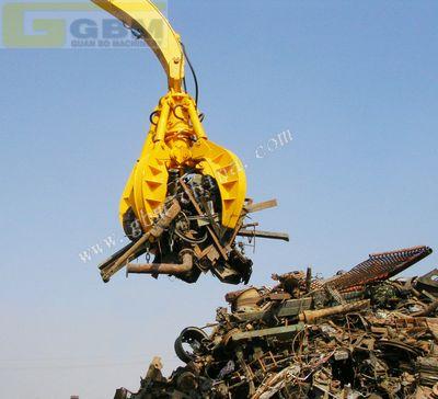 Hydraulic Orange Peel Grab Bucket manufacturer from China