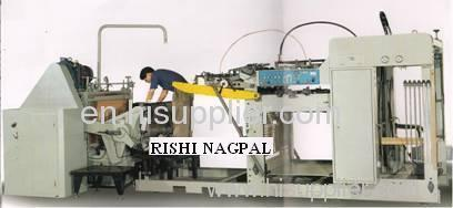Corrugated box die cutting machine