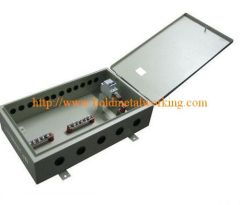 sheet metal junction distribution box
