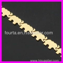 gold plated bracelet for ladys