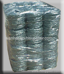 motto type galvanized barbed wire