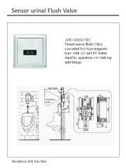 urinal sensor flush valve