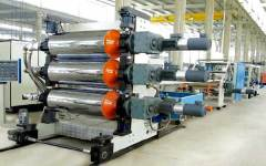 WPC thick board production machine