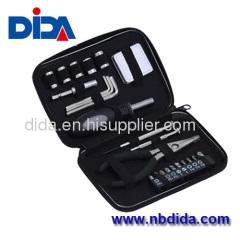25PC portable tool kit for home repair
