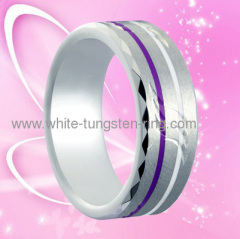 Tungsten Gold Ring For Men Hot Sales