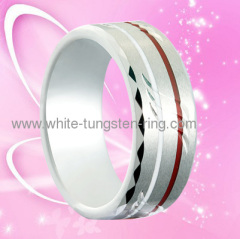 2011 Latest Tungsten Gold Wedding Ring For Men Hot Sales