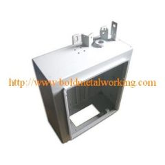 sheet metal control box