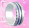 Fashion Jewelry Ring Tungsten Gold Ring Hot Sales for Men