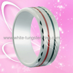2011 Latest Jewelry Ring Wedding Ring Tungsten Gold Ring For Men Hot Sales