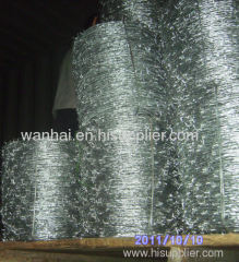 15 1/2 gauge high tensile barbed wire