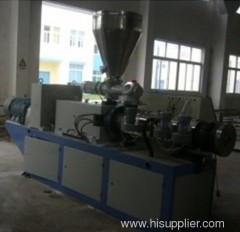 PVC profile extruding lines