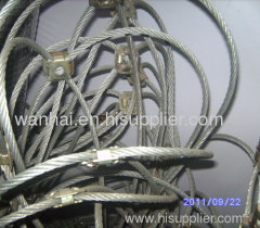 slope protection netting system