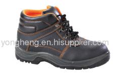 Embossed Split Leather Upper Composite Toe Work Boots