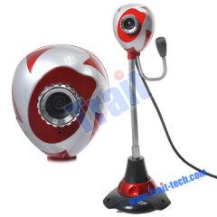 HD PC Webcam Camera, Web Camera, USB 2.0 12 Mega Pixel Mini Stereo Webcam HD Web Camera with Microphone