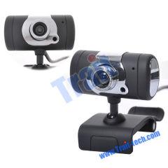 High Definition PC Webcam Camera, USB 2.0 12 Mega Pixel Mini Webcam HD Web Camera