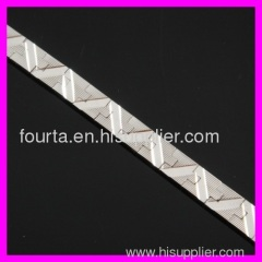 fallon fashion Rhodium plated bracelet