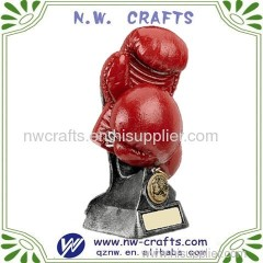 Red Boxing Gloves Award Gift
