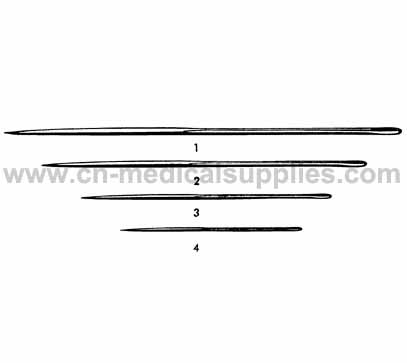 Straight Surgical Suture Needle