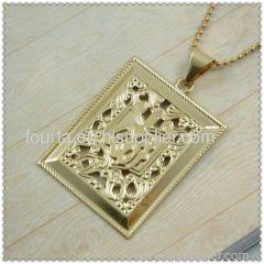 Fallon golden plated Muslim jewelry