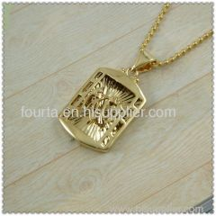 muslim hollow out pendant