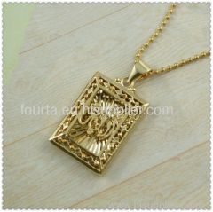 allah jewelry golden plated pandent